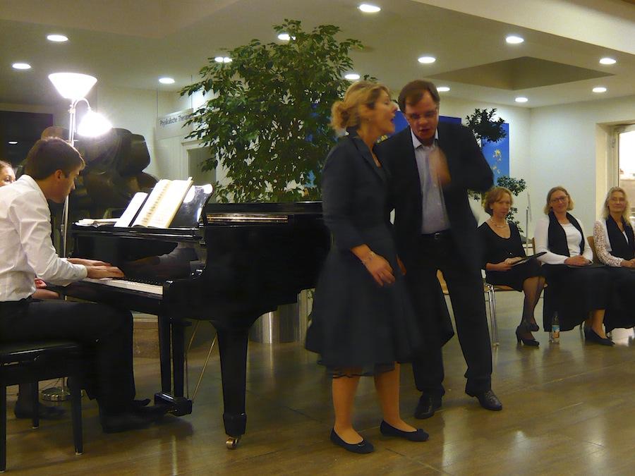 Christa Huber und Michael Felsenstein