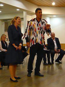 Christa Huber und Raimund Steinberger