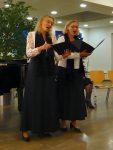 Maria Weiß und Christine Gaßner