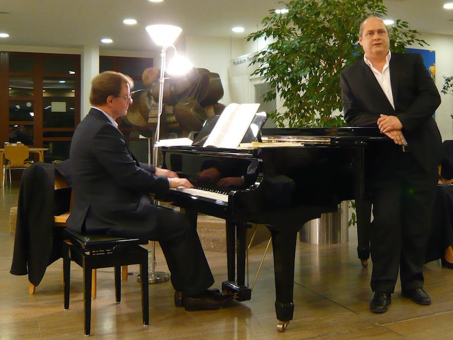 Rudi Obermaier und Michael Felsenstein
