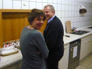 Anita Rinser und Franz Bock